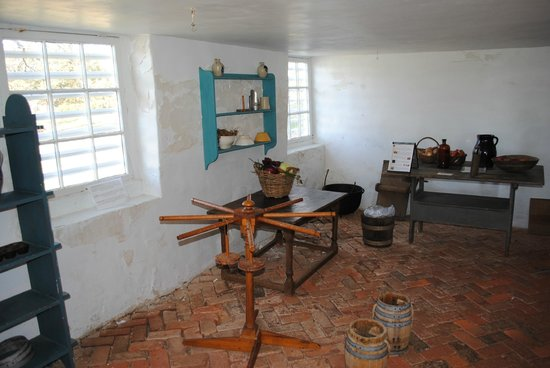 James Monroe's Highland:                   Work room, candlemaking equipment