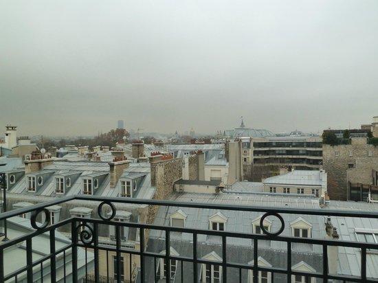 Le Bristol Paris:                   vue du Balcon