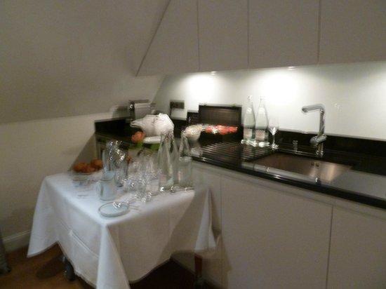 Le Bristol Paris:                   petite cuisine
