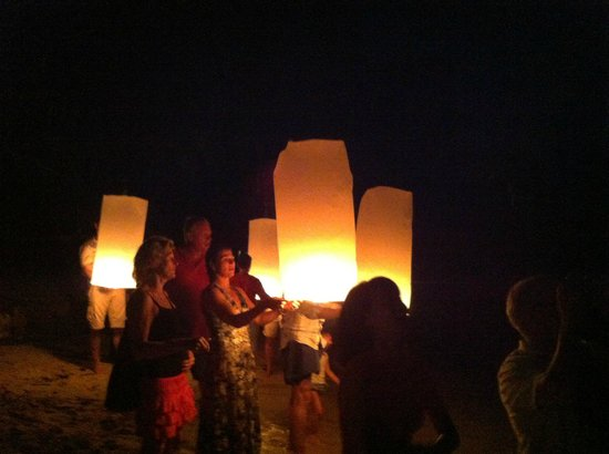 Koyao Island Resort:                                     night beach activity