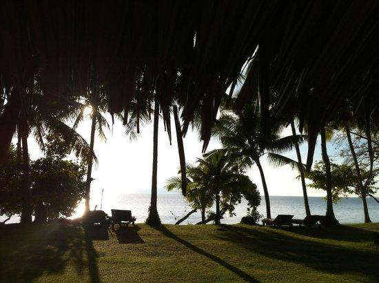 Koyao Island Resort:                                     la vue de la chambre