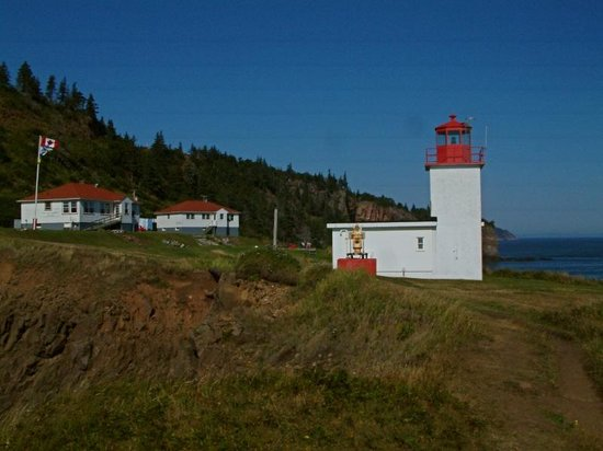 The Lighthouse on Cape d'Or