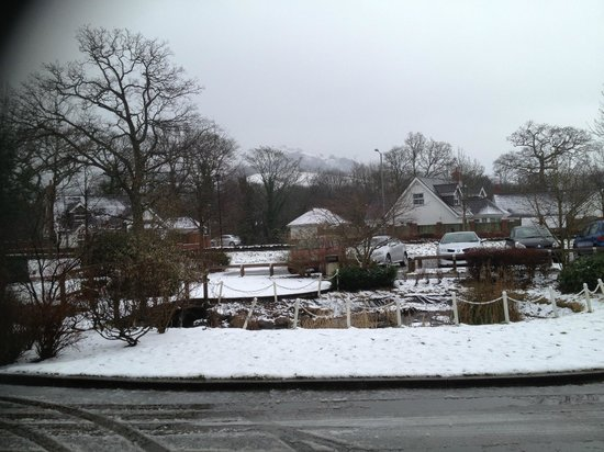 Wild Pheasant Hotel & Spa:                   Febuary in the snow