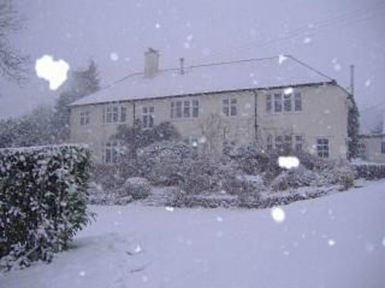 Upover Bed and Breakfast Exmoor: B&B in the Snow