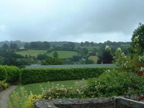 Upover Bed and Breakfast Exmoor: B&B Views