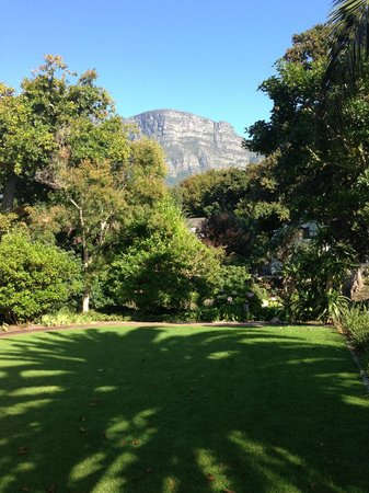 Vineyard Hotel:                   Garden View