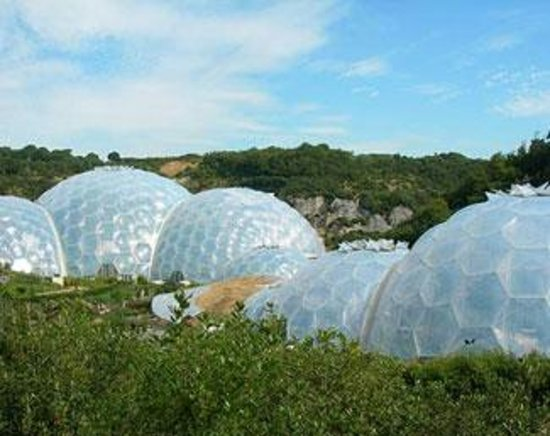 Trecarne House: Eden Project