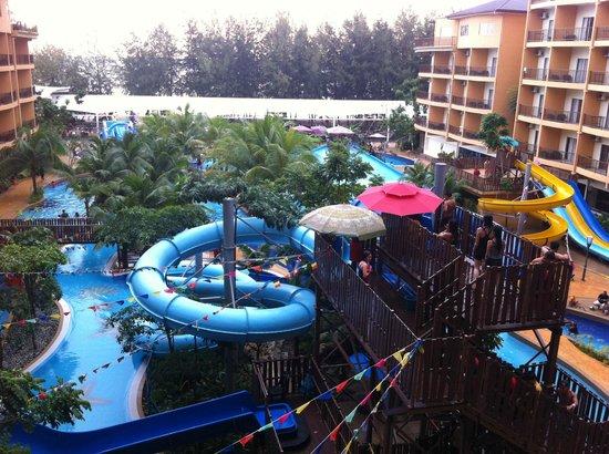 Gold Coast Morib International Resort:                   Waterpark