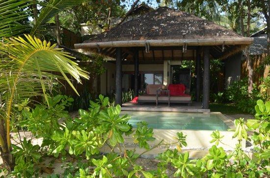 Anantara Rasananda Koh Phangan Villas:                   ocean beach villa