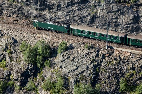 Myrdal, Norway: The Flåm Railway
