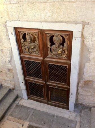 Carcere Mamertino:                   The subterranean Door to the prison