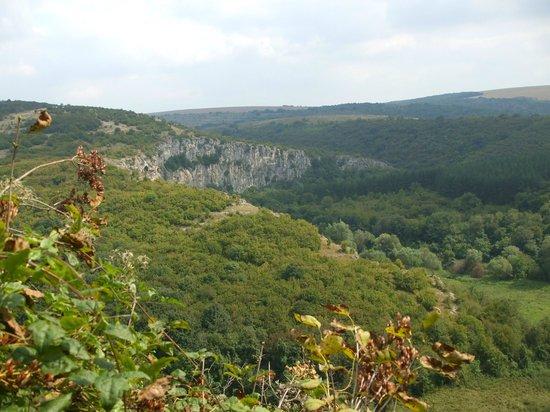 Orlova Chuka Cave :                   Vew from the top