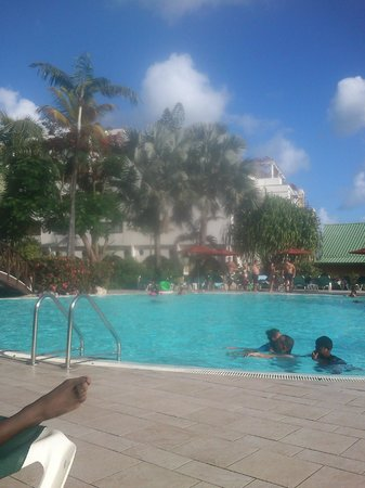 Sonesta Maho Beach Resort & Casino:                   The Pool