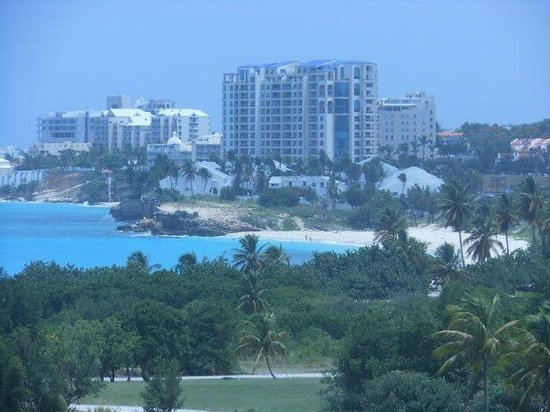 Sonesta Maho Beach Resort, Casino & Spa:                   Zoomed view from the room
