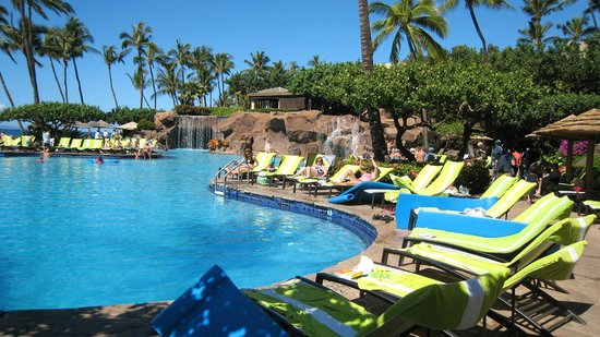 Westin Maui Resort And Spa:                   the kids swimming pool