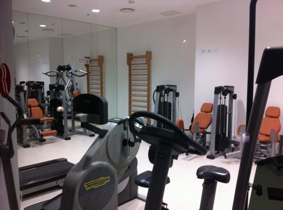 Ramada Plaza Milano:                   fitness room