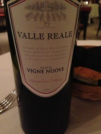 The Stock Exchange Restaurant :                   lovely red wine