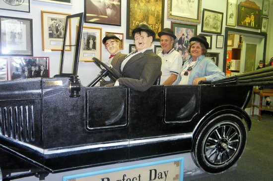 The Laurel and Hardy Museum of Harlem, Georgia:                   A PERFECT DAY