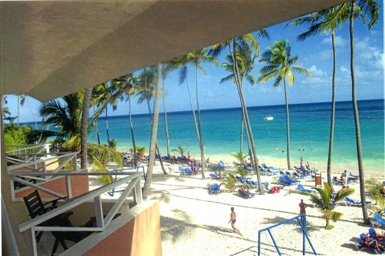 Barcelo Punta Cana:                   from the pizza shop