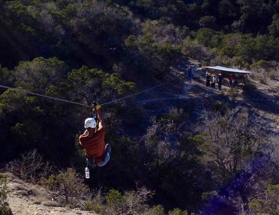 Wimberley Zipline Adventures: Soaring over the valley!