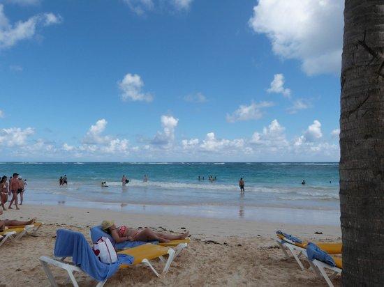 Ocean Blue & Sand:                   La playa