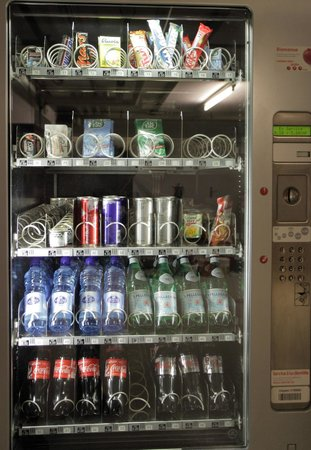 Design Hotel F6: Vending machine