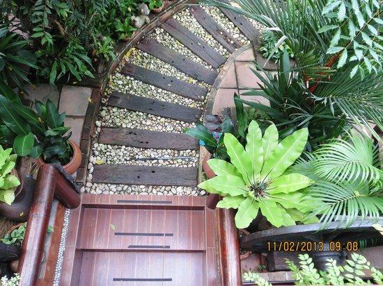 Baifern Homestay :                   Immaculate gardens