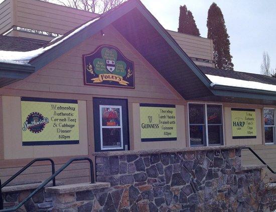 Foley's Irish Woods - front entrance
