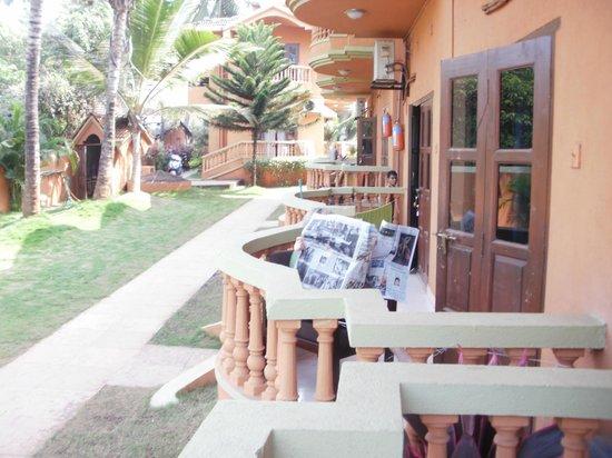 Ruffles Beach Resort:                                     gartenanlage