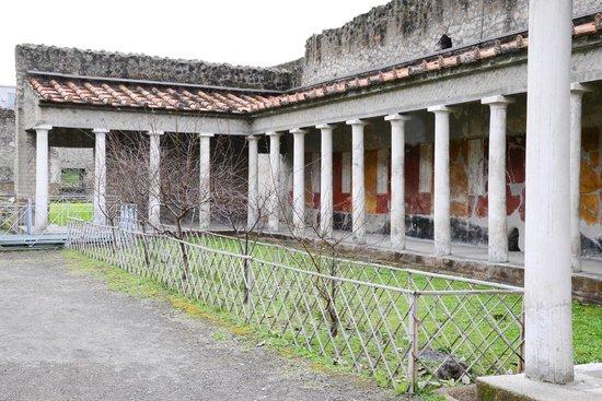 Oplonti Villa di Poppea Ruins:                   colonnati