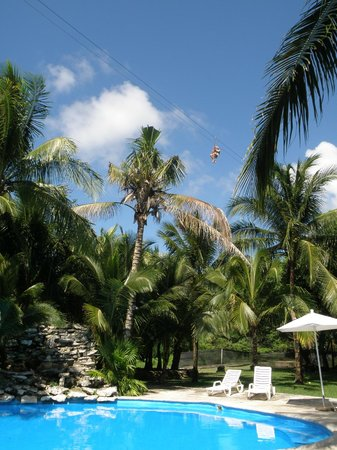 Ecoparque Cuzam: Flying with the Zipline