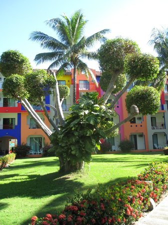 Royal Decameron Complex:                   Well-kept grounds