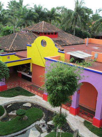 Royal Decameron Complex:                   Colorful buildings