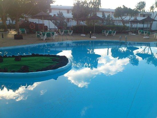 Aguamarina Golf Hotel:                   pool reflection