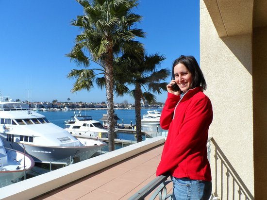 Balboa Bay Resort:                   Fresh air and the best view