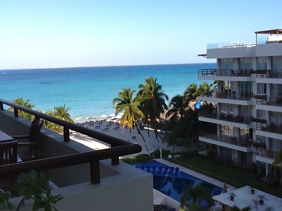 Ixchel Beach Hotel:                   View from room 503
