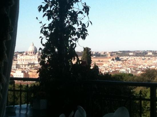 Hotel Splendide Royal:                   vista al Vaticano