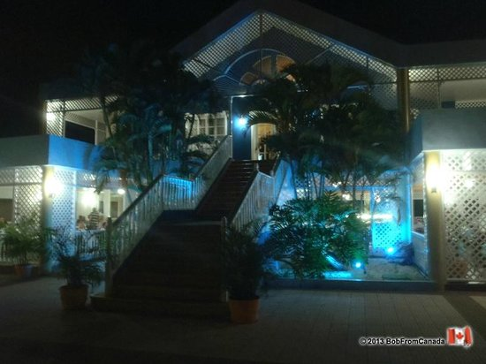 Puerto Plata Village Resort:                                     Night Lighting