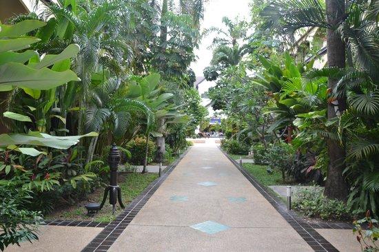 Splendid Resort at Jomtien:                   arrivée aux chambres