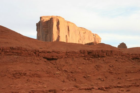 Monument Valley Navajo Tribal Park:                   This reminds me of the Jawa Sandcrawler from Star Wars. Might be Cly Butte.
