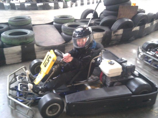 West Coast Indoor Karting:                   karting