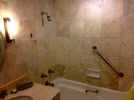 Arnoma Grand Bangkok:                   Shower with Bath tub