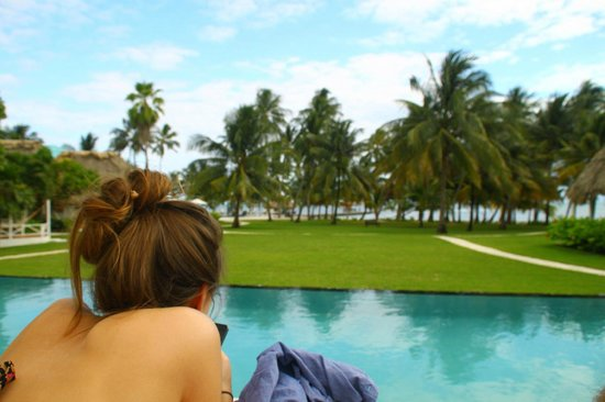 Victoria House Resort & Spa:                   Post-breakfast hangout