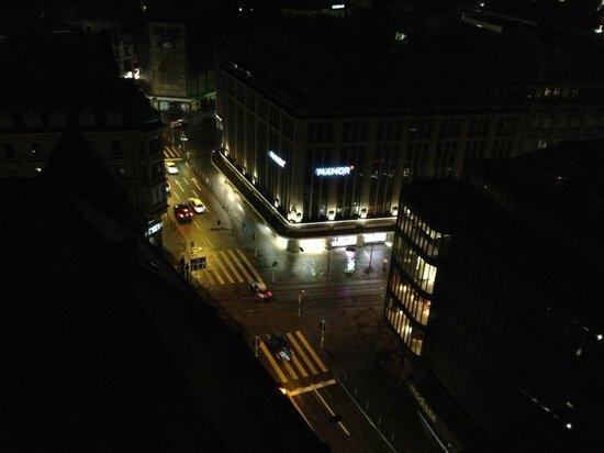 Hotel Helvetia :                                     view