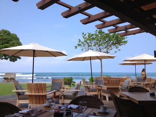 Four Seasons Resort Hualalai:                   View from Breakfast