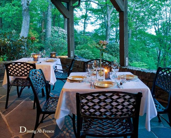 The Restaurant at Gideon Ridge : Dining Al Fresco