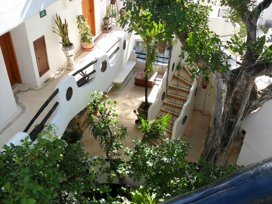 Hotel Quinto Sol:                   cortile                 