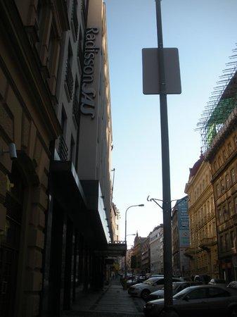 Radisson Blu Alcron Hotel, Prague:                   entrata