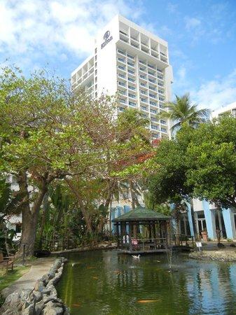 Caribe Hilton San Juan:                   Grounds
