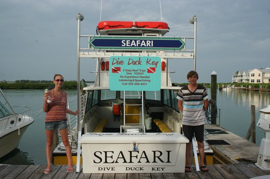 Dive Duck Key:                   The Seafari
